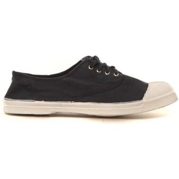 Zapatos Mujer Zapatillas bajas Bensimon Tennis à lacets Carbone - Ardoise Gris