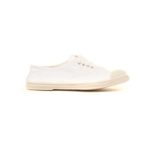 Zapatos Mujer Deportivas Moda Bensimon Tennis à lacets blanc Blanco