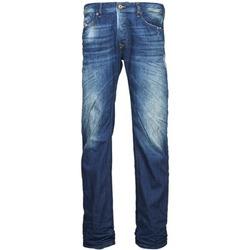 textil Hombre vaqueros rectos Diesel WAYKEE Azul