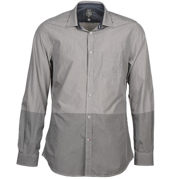textil Hombre camisas manga larga Diesel SAUSAN Gris