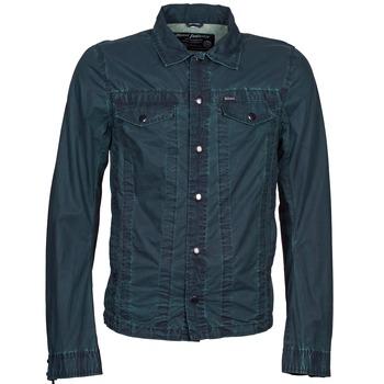 textil Hombre chaquetas denim Diesel J-XOCHILL Marino