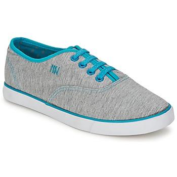 Zapatos Mujer Zapatillas bajas Dorotennis C1 TENNIS RICHELIEU LACETS SEMELL JERSEY Gris / Turquesa