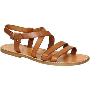 Zapatos Hombre Sandalias Gianluca - L'artigiano Del Cuoio 531 U CUOIO CUOIO Cuoio