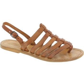 Zapatos Mujer Sandalias Gianluca - L'artigiano Del Cuoio 576 D CUOIO CUOIO Cuoio