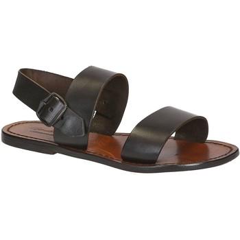 Zapatos Mujer Sandalias Gianluca - L'artigiano Del Cuoio 500 D MORO CUOIO Testa di Moro