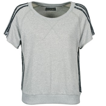textil Mujer camisetas manga corta Religion B114HRW02 Gris