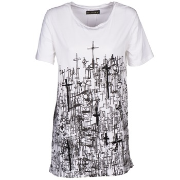 textil Mujer camisetas manga corta Religion B123CND13 Blanco