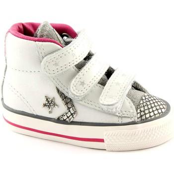 Zapatos Niños Pantuflas para bebé Converse CON-746384C-WH Bianco