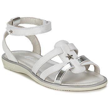 Zapatos Niña Sandalias Mod'8 HOPAL Blanco
