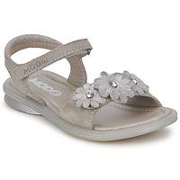 Zapatos Niña Sandalias Mod'8 JUKA Plateado