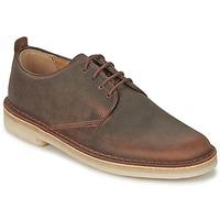 Zapatos Hombre Derbie Clarks DESERT LONDON Marrón