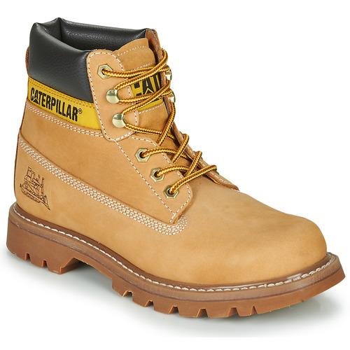 Zapatos Hombre Botas de caña baja Caterpillar COLORADO Miel
