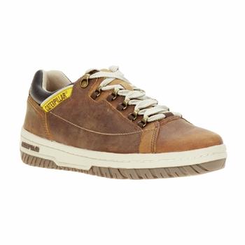 Zapatos Hombre Zapatillas bajas Caterpillar APA Marrón