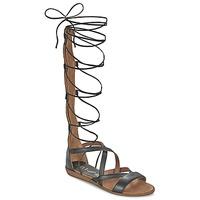 Zapatos Mujer Sandalias Unisa ANDA Negro