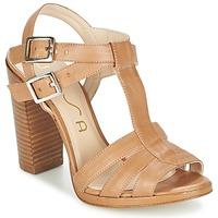 Zapatos Mujer Sandalias Unisa YUM Beige