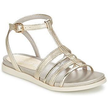Zapatos Mujer Sandalias Unisa PY Plateado