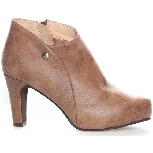 Zapatos Mujer Botines Les Petites Bombes Les Petites Bombes Bottines Alienor taupe Marrón