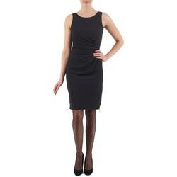 textil Mujer vestidos cortos Esprit BEVERLY CREPE Negro