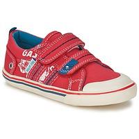 Zapatos Niño Zapatillas bajas Start Rite GASOLINE Rojo