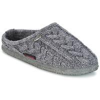 Zapatos Hombre Pantuflas Giesswein NEUDAU Antracita