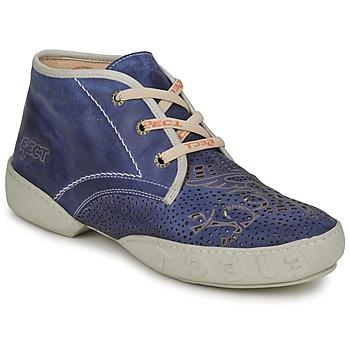 Zapatos Hombre Botas de caña baja Eject SENA Navy - Azul - Off - Blanco