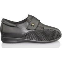 Zapatos Mujer Mocasín Calzamedi S  DIABÉTICO W 611 NEGRO