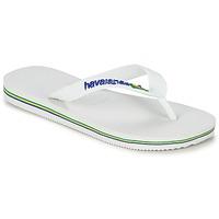 Zapatos Niños Chanclas Havaianas BRASIL LOGO Blanco