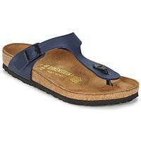 Zapatos Sandalias Birkenstock GIZEH Azul
