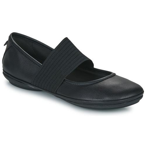 Gran descuento Camper RIGHT NINA Negro - Envío gratis Nueva promoción - Zapatos Bailarinas Mujer  Negro