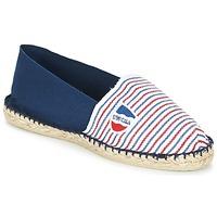 Zapatos Alpargatas 1789 Cala CLASSIQUE BICOLORE Azul / Blanco / Rojo