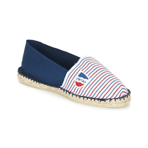 1789 Cala CLASSIQUE BICOLORE Azul / Blanco / Rojo - Envío gratis | ! - Zapatos Alpargatas