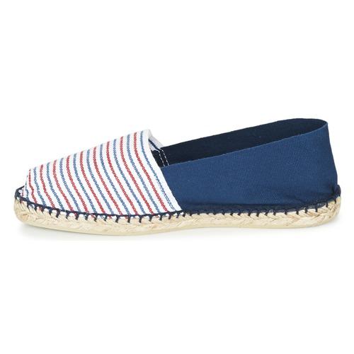 Bicolore Rojo Zapatos AzulBlanco Cala 1789 Alpargatas Classique kN80OwPXn