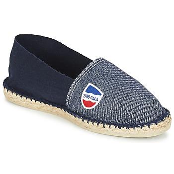 Zapatos Alpargatas 1789 Cala CLASSIQUE BICOLORE Marino