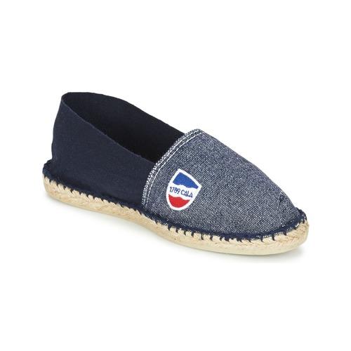 1789 Cala CLASSIQUE BICOLORE Marino - Envío gratis | ! - Zapatos Alpargatas Hombre
