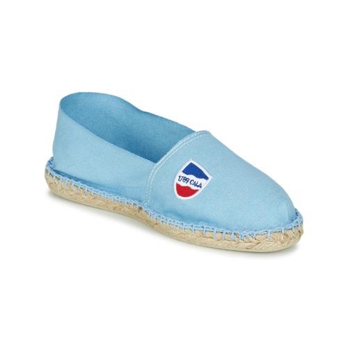 Zapatos Alpargatas 1789 Cala CLASSIQUE Azul