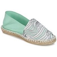 Zapatos Mujer Alpargatas 1789 Cala CLASSIQUE IMPRIMEE Agua / Blanco