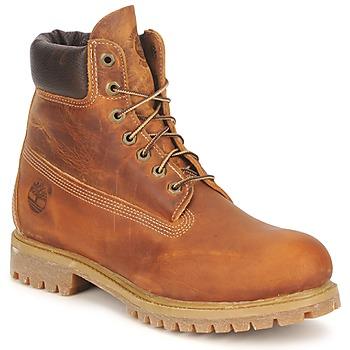 Zapatos Hombre Botas de caña baja Timberland HERITAGE 6 IN PREMIUM Marrón
