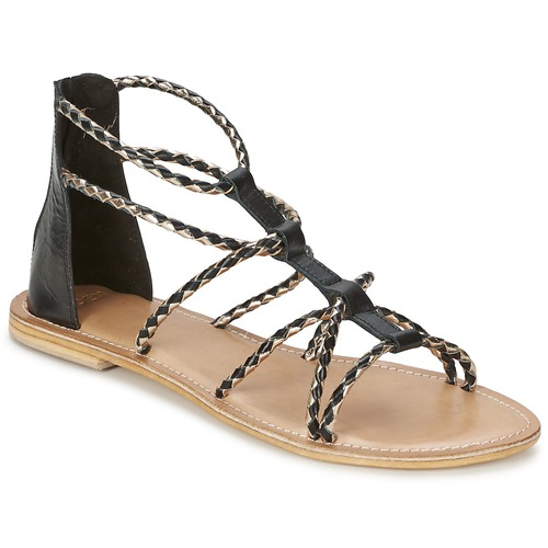 Zapatos Mujer Sandalias Eden MAYRA Negro