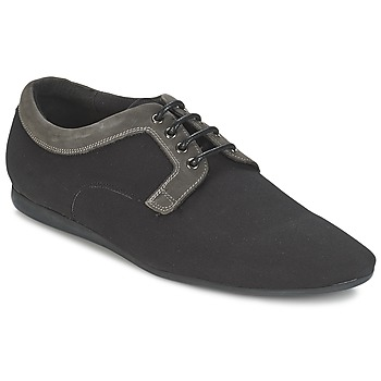 Zapatos Hombre Derbie Schmoove FIDJI CLUB Negro / Gris