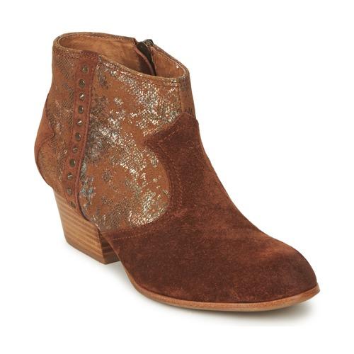 Zapatos de mujer baratos zapatos de mujer Zapatos especiales Schmoove WHISPER VEGAS Marrón / Glitter