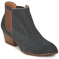 Zapatos Mujer Botas de caña baja Schmoove WHISPER CHELSEA Marino / Marrón