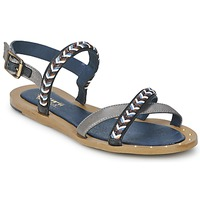 Zapatos Mujer Sandalias Schmoove MEMORY LINK Plateado / Marino