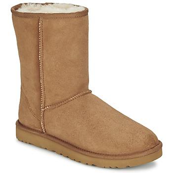 Zapatos Mujer Botas de caña baja UGG CLASSIC SHORT Chestnut