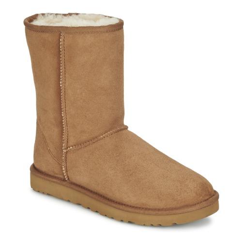Zapatos beige UGG Australia Classic para mujer Comprar oferta de venta en línea Pago de la visa de venta oQo5ui