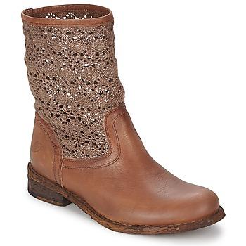 Zapatos Mujer Botas de caña baja Felmini GREDO Chocolate