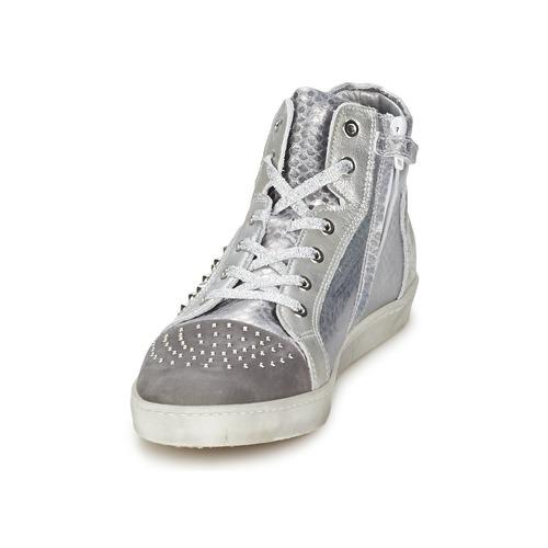 Hip Mujer cocodrilo 90cr Plateado Zapatos Zapatillas Altas L3Rc5AqS4j