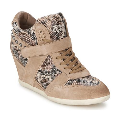 Zapatos Mujer Zapatillas altas Ash BISOU Topotea / Serpiente