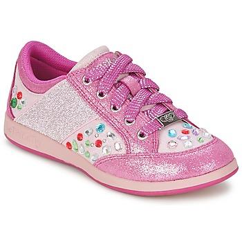 Zapatos Niña Zapatillas bajas Lelli Kelly GLITTER-ROSE-CALIFORNIA Rosa