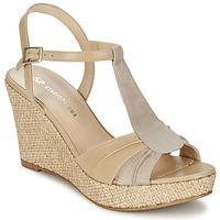 Zapatos Mujer Sandalias Studio Paloma LUCREZIA Beige
