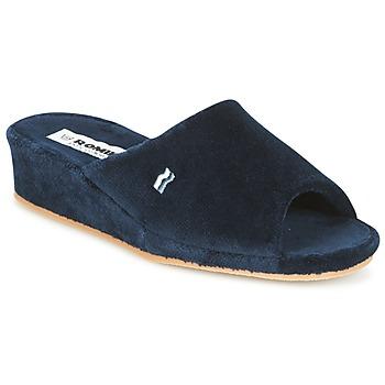Zapatos Mujer Pantuflas Romika Paris Marino